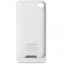 Защитный чехол-аккумулятор для iPhone 4/4S 3000 mAh белый
