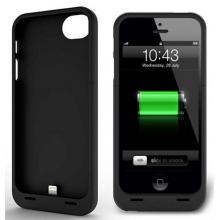 Защитный чехол-аккумулятор для iPhone 5/5S 3000 mAh черный